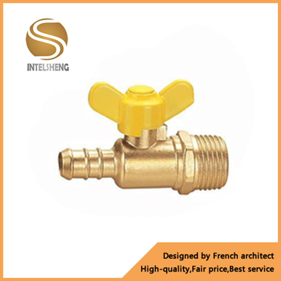 Yuhuan Factory Manufacture 1′′ Dn25 Brass Stop Gas Ball Valve