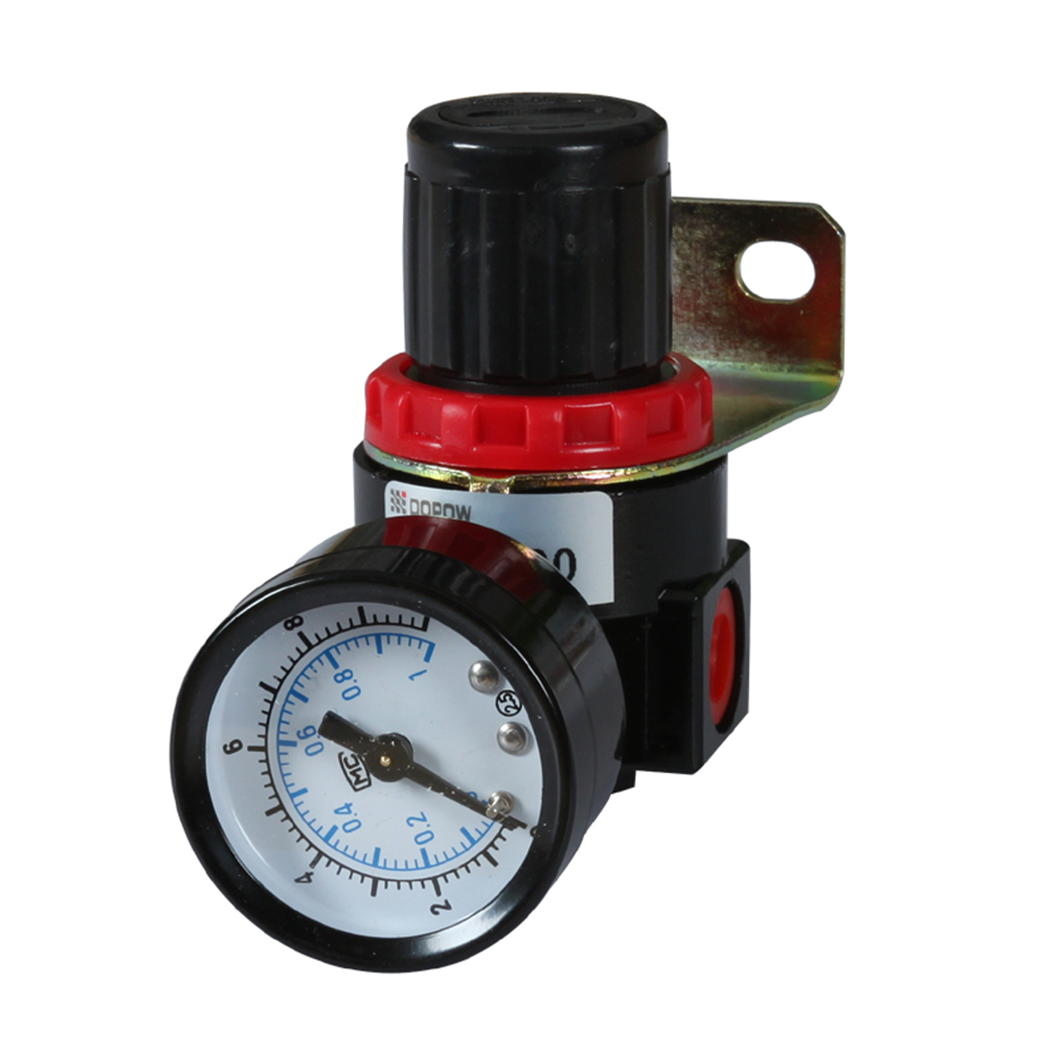 Dopow Ar Br2000 Air Regulator with Gauge Bracket G1/8""