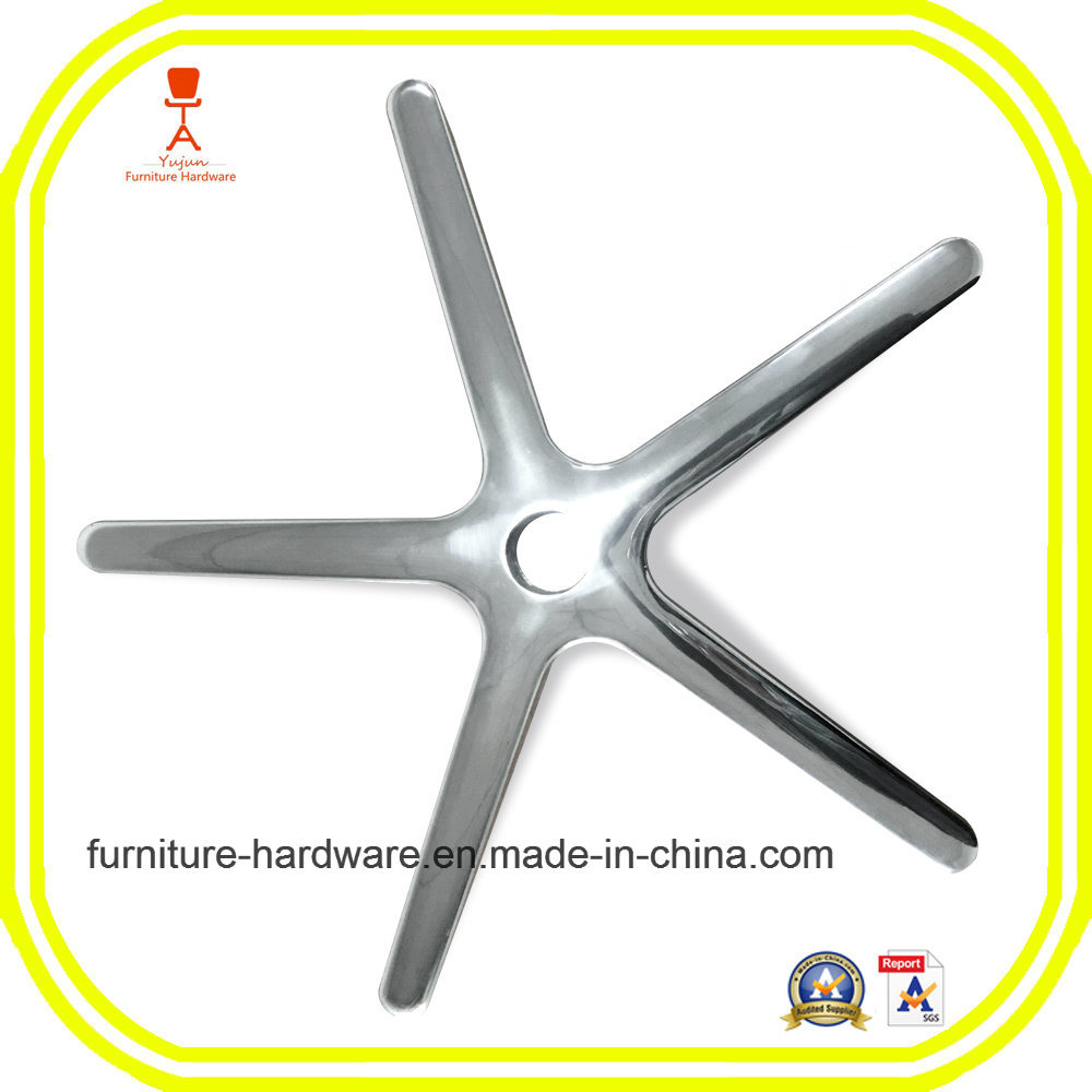 5 Star Swivel Base Aluminum for Medical Device Furniture Parts Mobile Instrument Stand