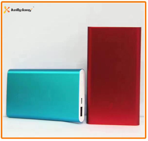 10000mAh Aluminium Mobile Phone Portable Charger