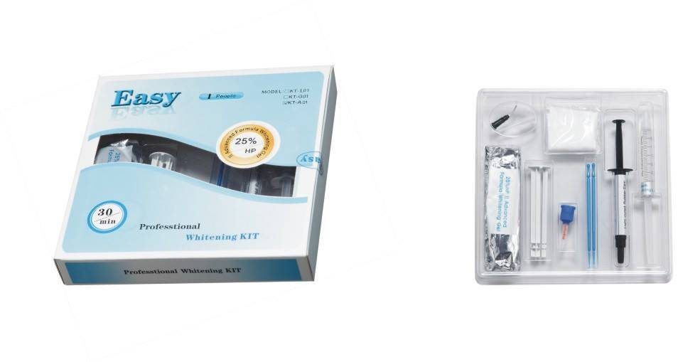 Professional Teeth Whitening Dental Kit for 1people