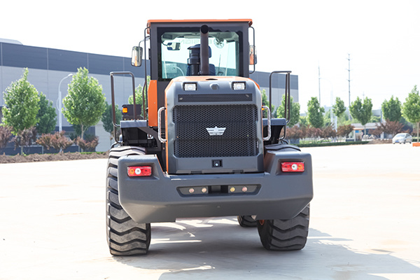 New Front Articulated 5 Ton Wheel Loader Yx655 with Weichai Engine