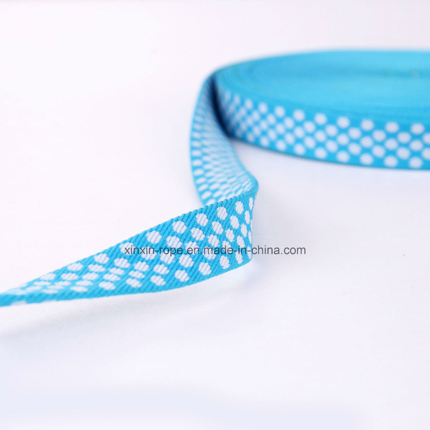 High Elastic Nylon Woven Multifuctional Webbing Jacquard for Slippers Clothes