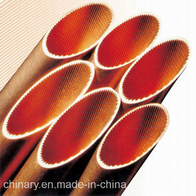 Copper Tubes (inner grooved) , for Refrigeration, Air Condition, Copper Pipe