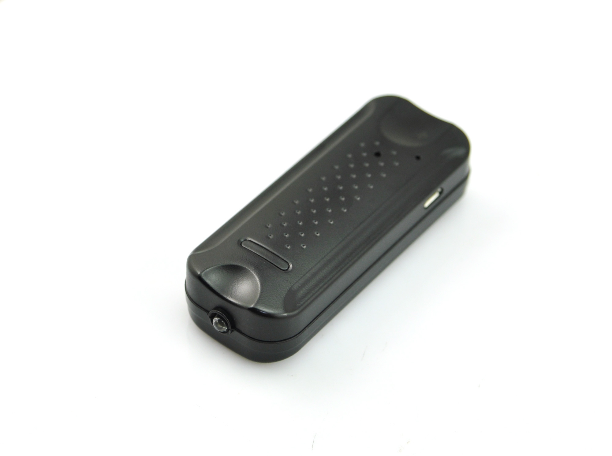 Q6voice Activated Magnetic Micro Hidden Voicerecorder Inside Mini LED Torch with 2000mAh Rechargeable Battery