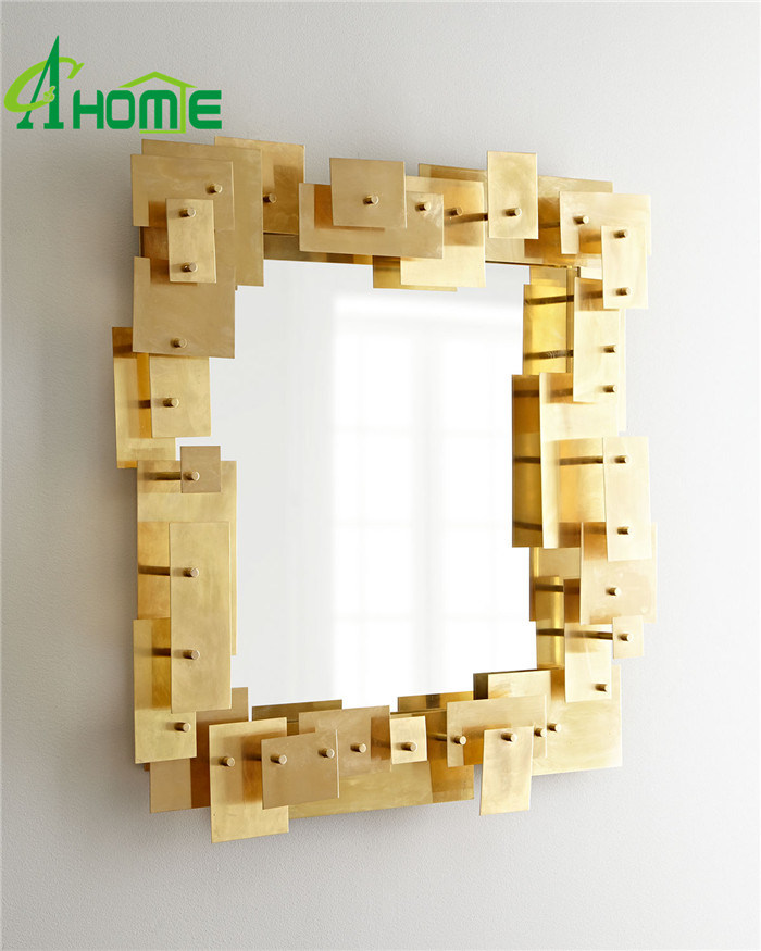 Living Room Puzzle Mirror for Home Decorative