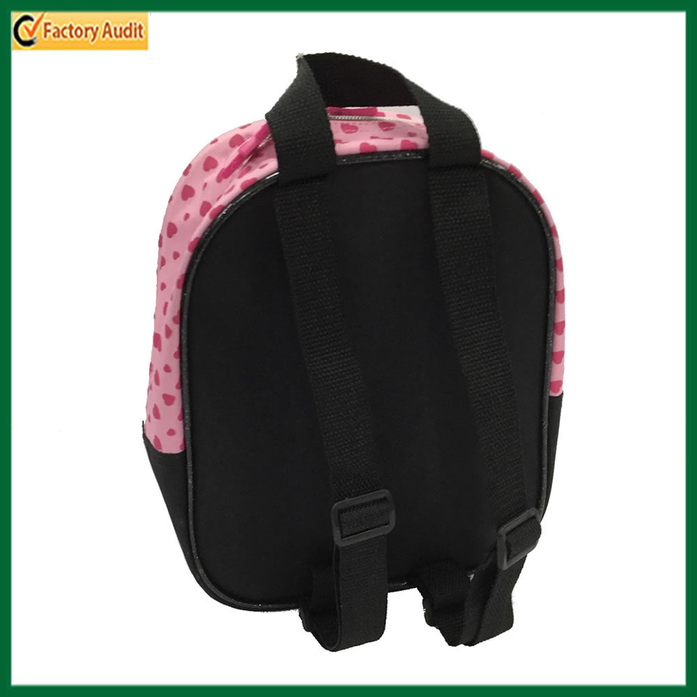 Cut Cartoon Pink Backpack School Bag for Little Girl (TP-BP218)