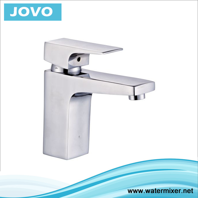 Modern Chromed Single Handle Basin Water Faucet Jv70201