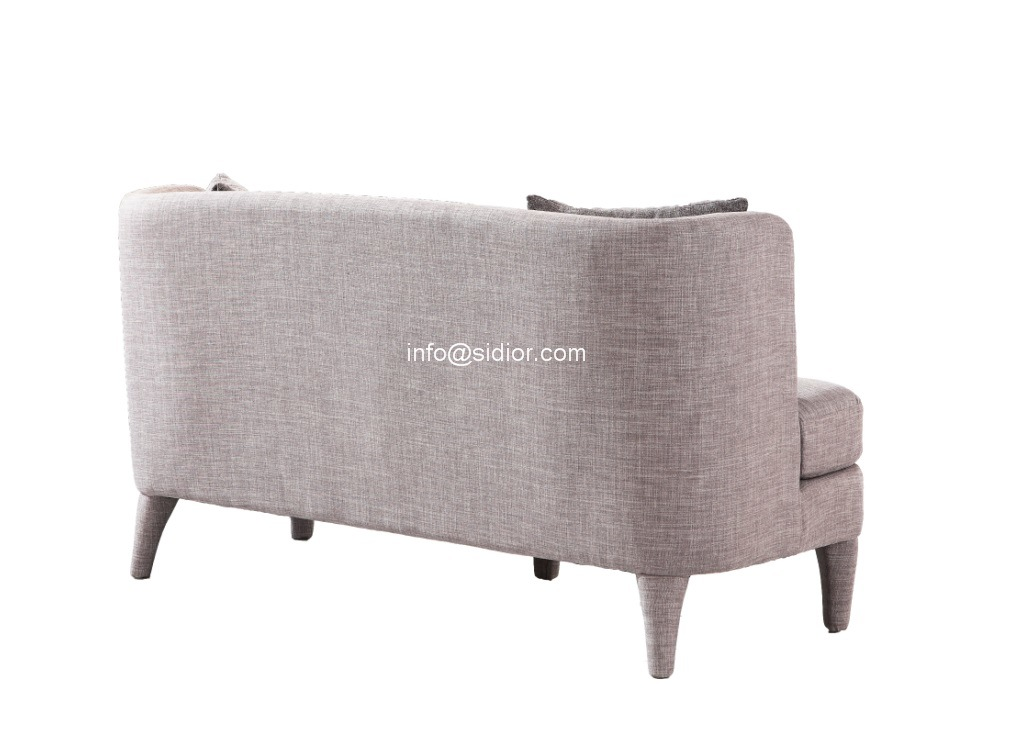 (SD-6008-2) Modern Living Room Hotel Furniture Fabric Sofa