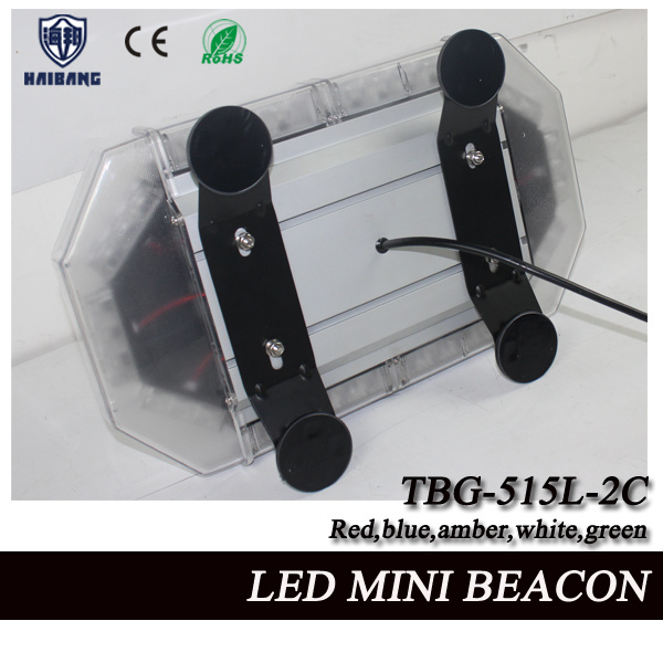 17 Inch LED Mini Flashing Beacon Light with Tir Lens and Aluminum Shell (TBG-515L-2C)
