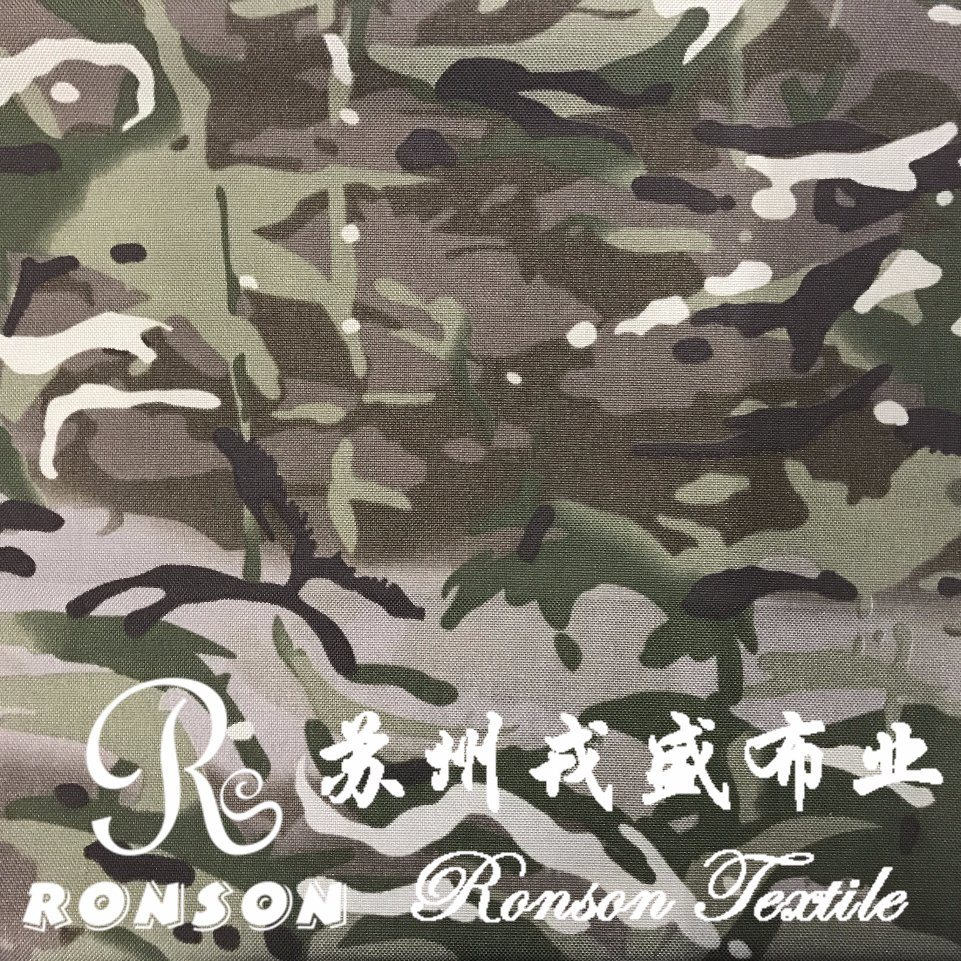 Multicam Camouflage Cordura Nylon Oxford Fabric for Bags&Luggage
