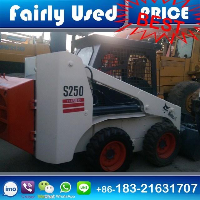 Used Bobcat S250 Skid Steer Loader of Bobcat S250 Loader