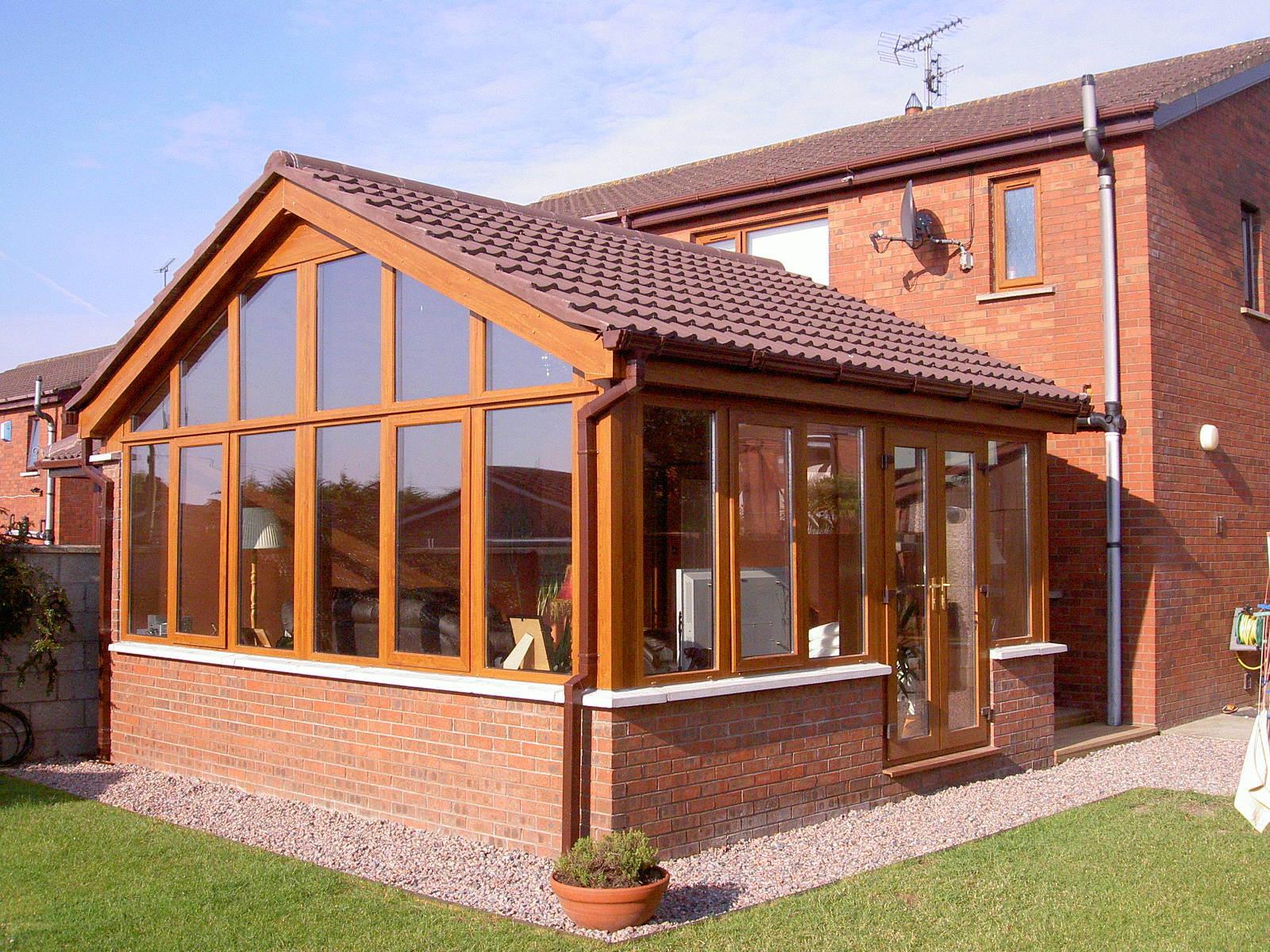 Woodwin Best Seller Aluminum Green House for Villa Garden