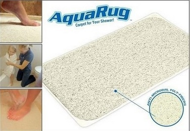 PVC Bathroom Mat Plastic Vinyl Bath Mat Anti-Slip Floor Mat
