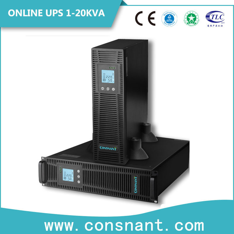 1-10kVA Rack Mount Online UPS with Power Factor 0.9