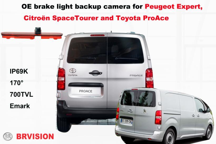 Custom Vehicle Reversing IP Camera for Peugeot Expert