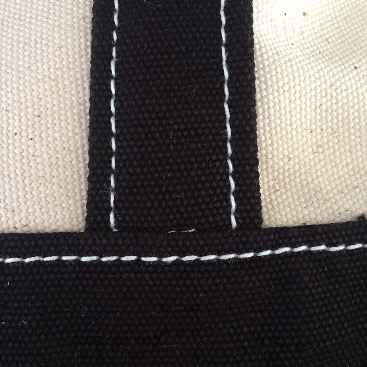 16oz/20oz High Quality Shoulder Handle Canvas Tote Bag