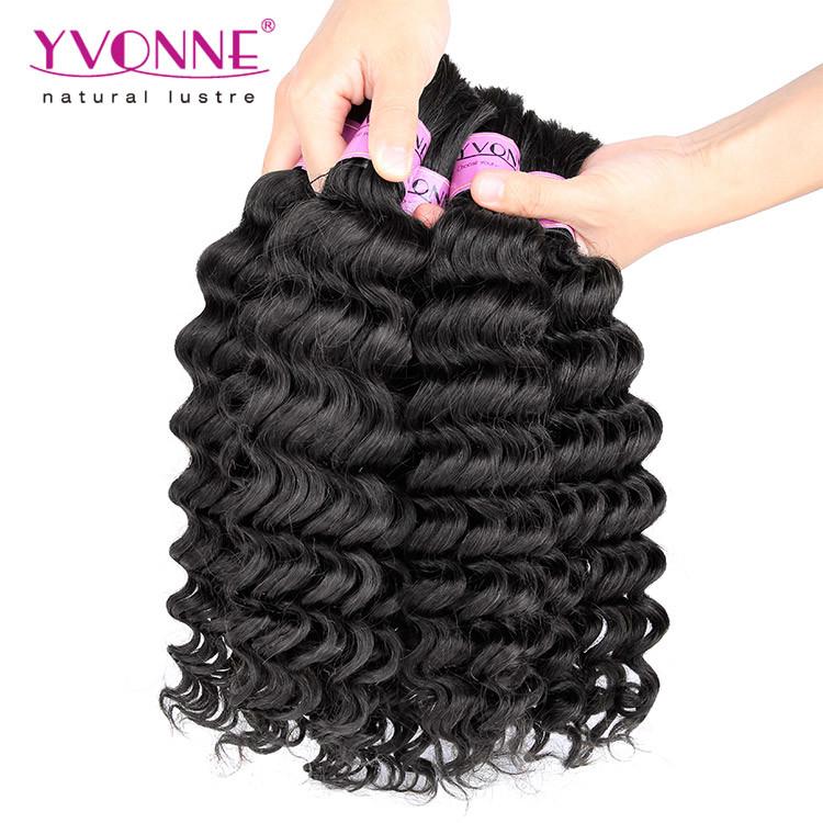 Virgin Brazilian Hair Bulk Natural Human Hair Bulk