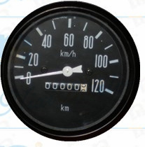 "3/8"" 60mm 0-15 Oil Pressure Gauge with Inductance"