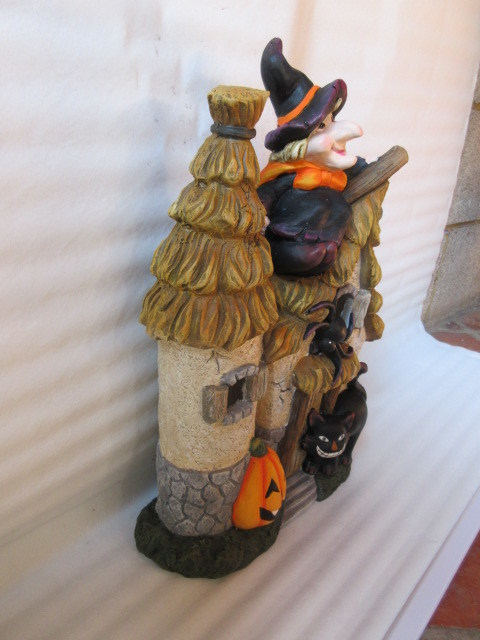 Halloween Decoration House Ceramic Crafts (LOE2269-60)