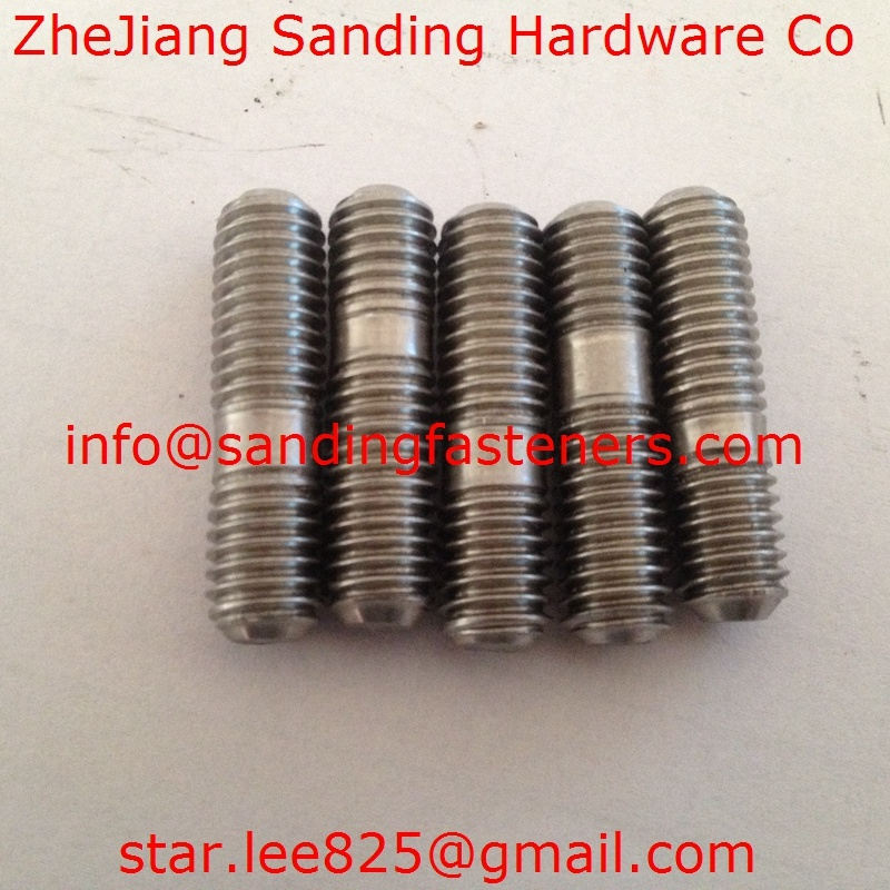 Stainless Steel Carbon Steel Double Head Bolt