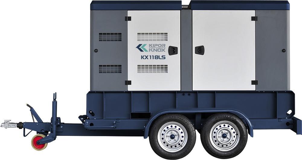 Kipor Knox Trailer Type Mobile Diesel Generator Set Kx118ls