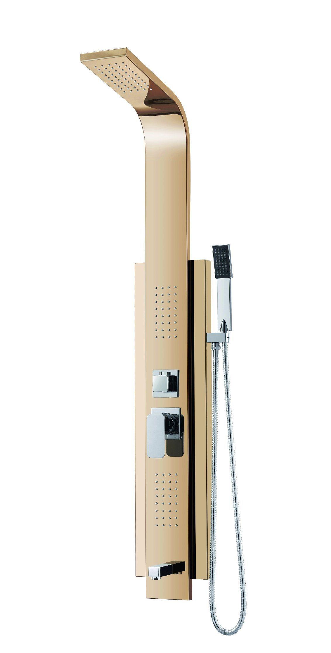 (K2211-4) Stainless Steel Shower Panel / Shower Column