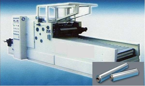 Aluminum Foil Cutting Rewinding Machine (GS-AF 600)