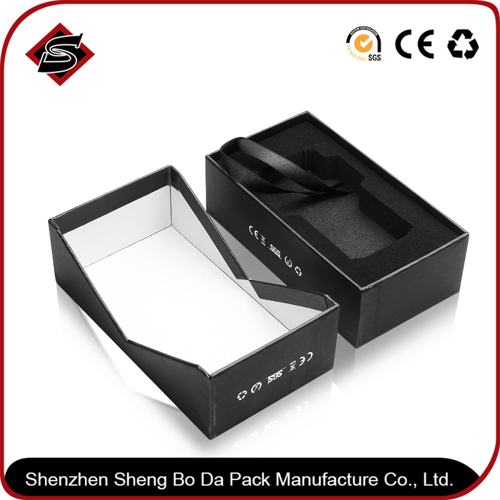 Custom Hot Stamping Jewelry Gift Paper Cardboard Box Packaging