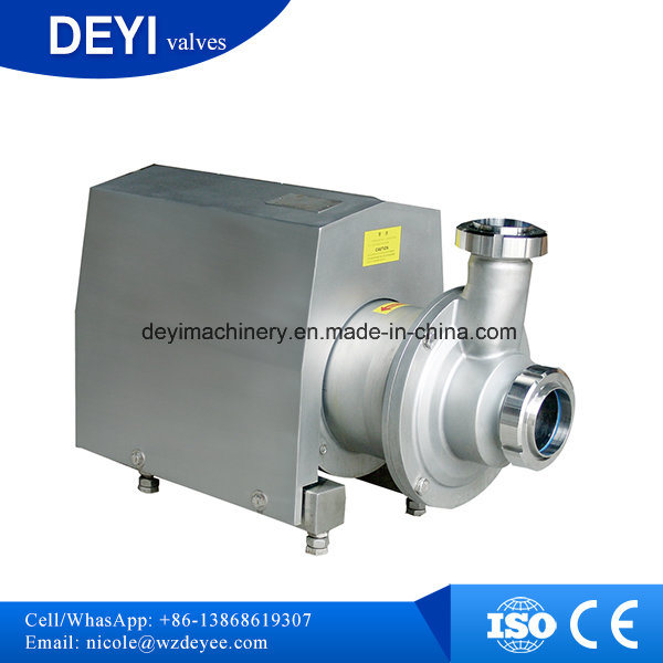 Stainless Steel Sanitary Self Priming Pump (DY-P018)