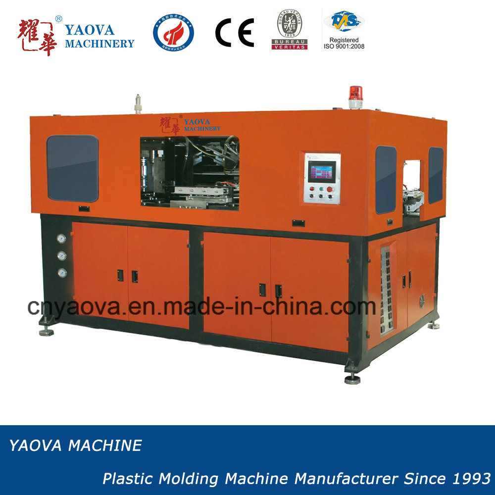 Hand Feed Automatic Blow Moulding Machine 2000ml Milk Bottles