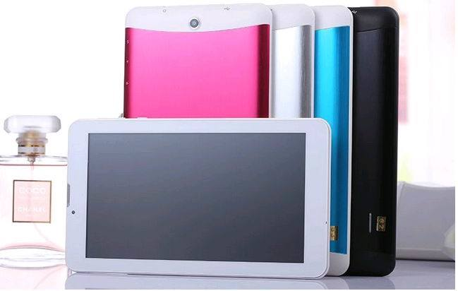 Tablet PC 7 Inch Quad Core 4G WCDMA Front 2.0MP Rear 5.0MP 1280*800 IPS Bluetooth Android Tablet