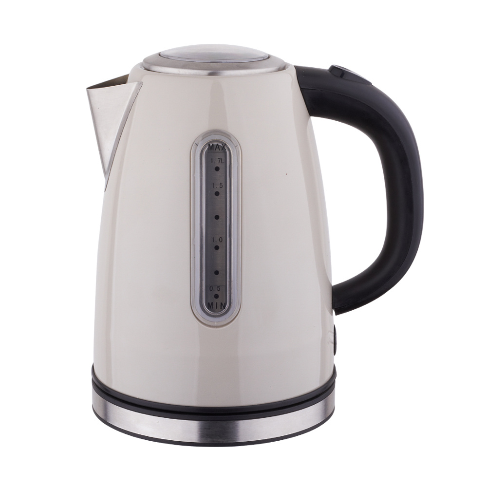 Household Appliances Stainless Steel Cordless Electric Kettle with One Year Warranty