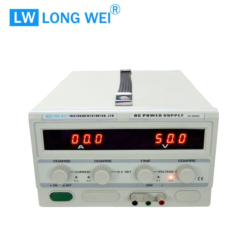 Longwei Lw5020kd 0-50V0-20A Over Voltage Protection Switching DC Power Supply