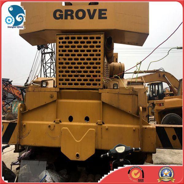 80ton Grove off-Road Wheel Crane Rough Terrain Crane