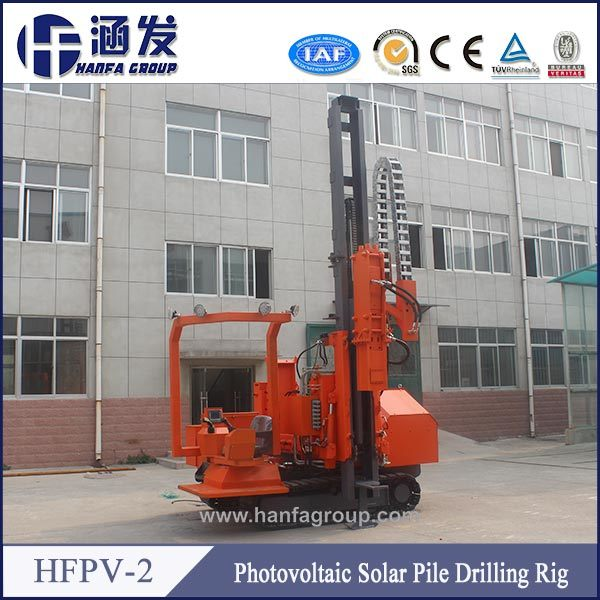 Hfpv-2 Hard Rock DTH Photovoltaic Solar Pole Pile Drilling Machine