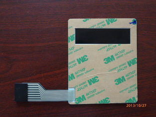 Plastic Single Flexible Push Button Membrane Switch Keypads, High Performance
