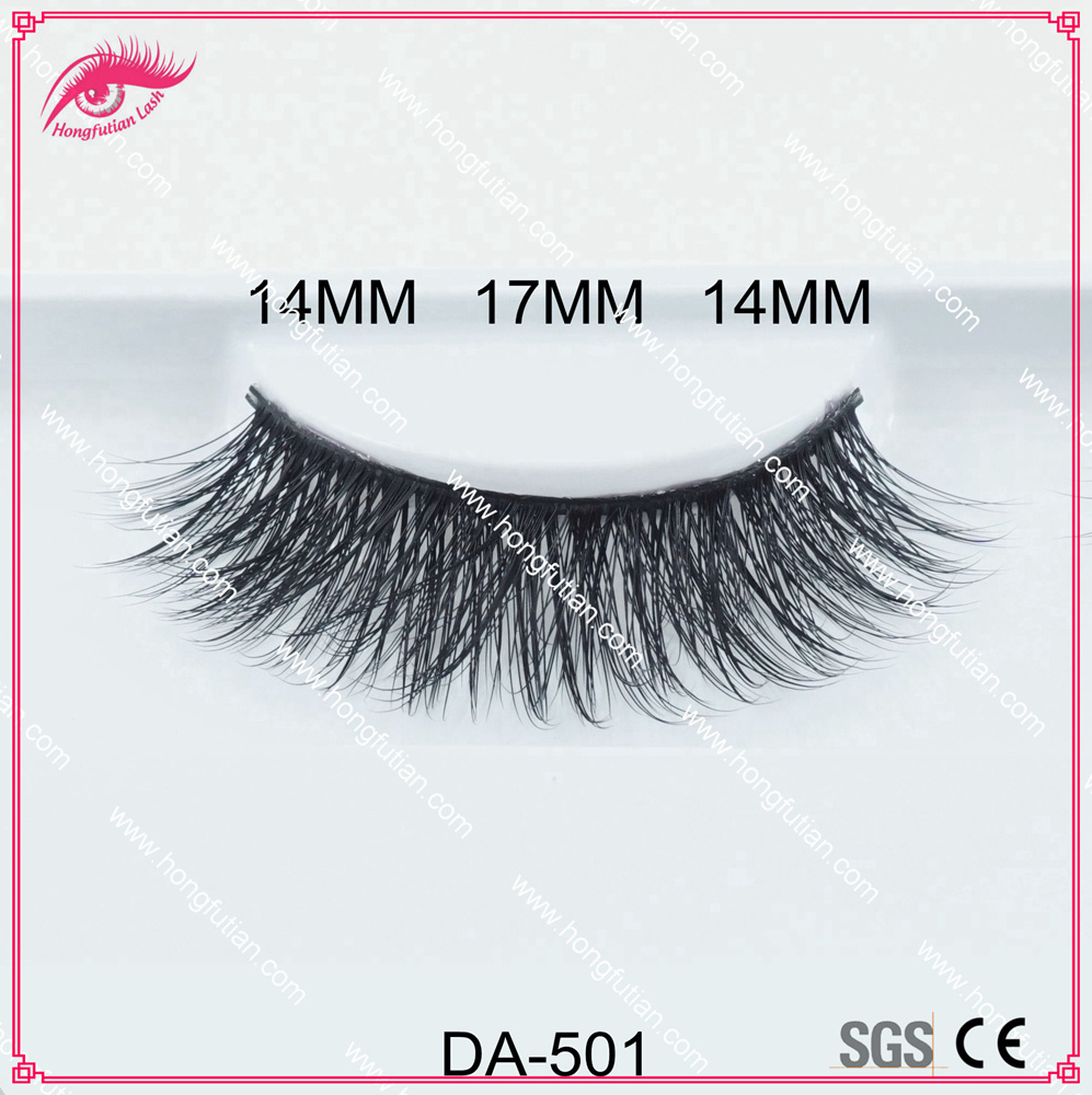 Hot Sale Makeup 3D Artificial Mink Eyelashes