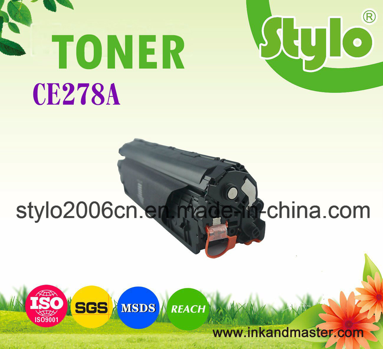 Toner Cartridge Ce278A for Use HP Laserjet Printer