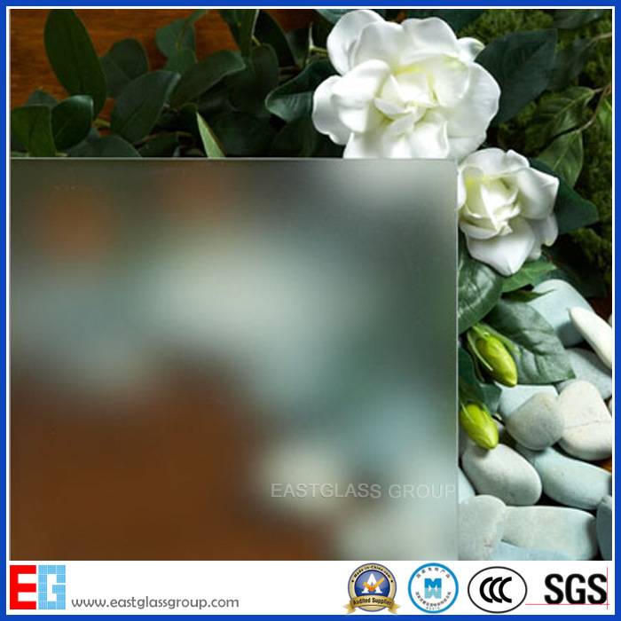 3-19mm Frosted Glass, Acid Etched Glass, Obsure Glass