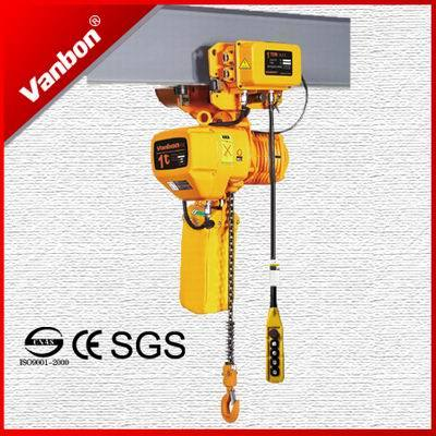 1 Ton Trolley Type Electric Chain Hoist