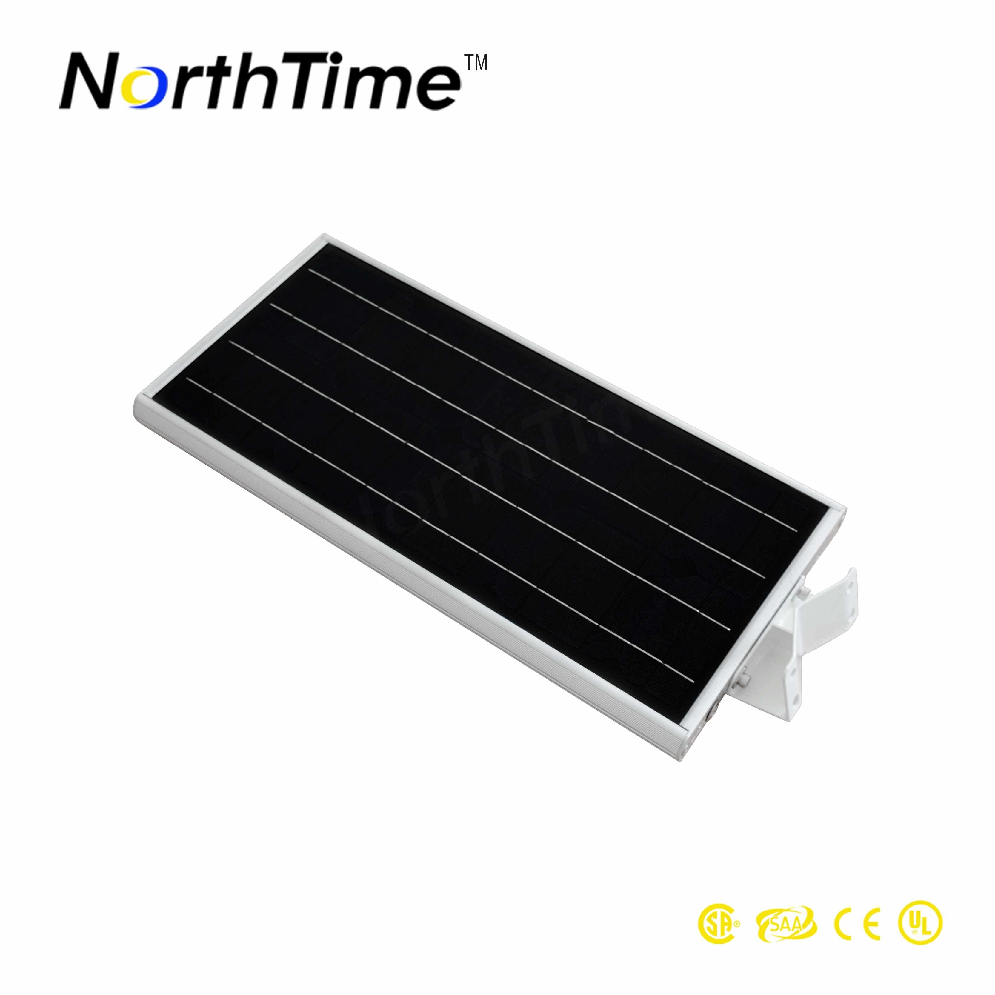 Integrated Parking Lots Infrared Motion Sensor Solar Street Light 18W