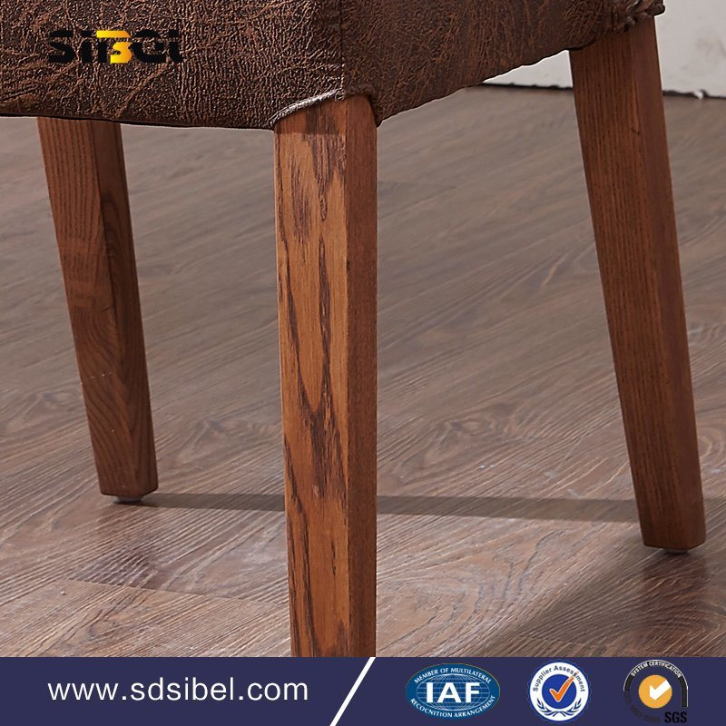 Antique Wood and Rattant Chair Sbe-Cy0310