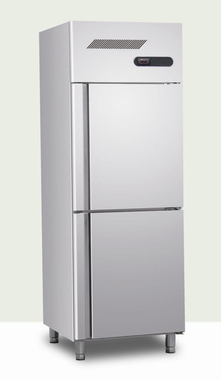 Commercial glass door fridge - Steel Refrigerator With Two Door Photos Amp Pictures Made In China Com