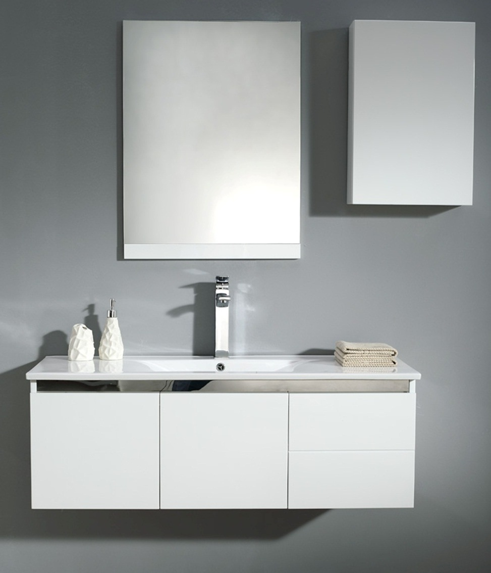 white color bathroom vanity bathroom cabinet 021 1200