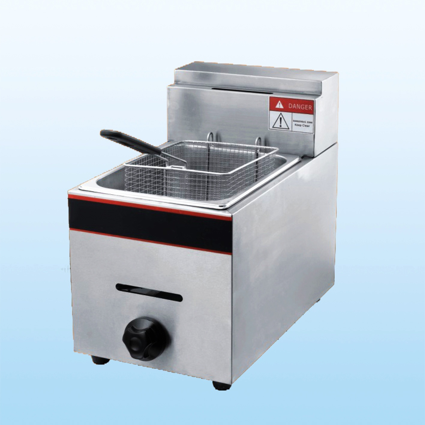 Gas Fryer (DF-71) - China Gas Fryer, Deep Fryer