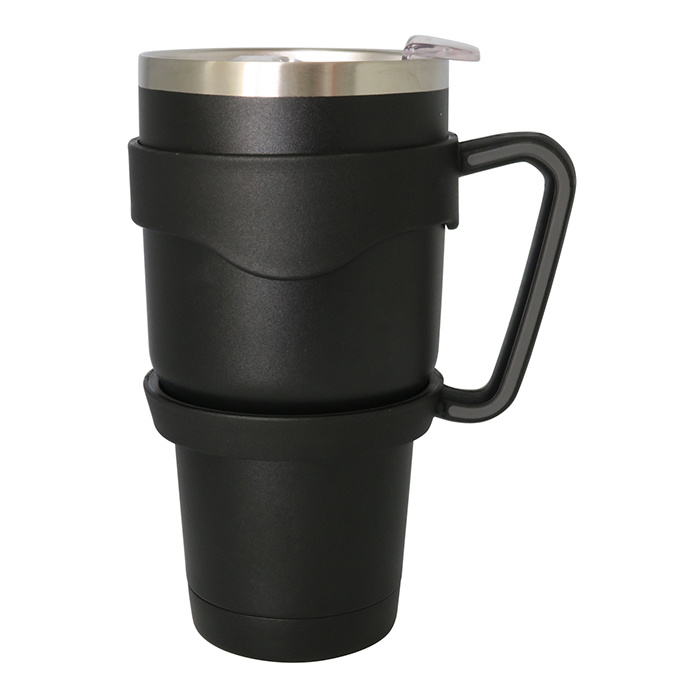 Travel Stainless Steel Vacuum Auto Mug Green 30oz as Professional as Yeti