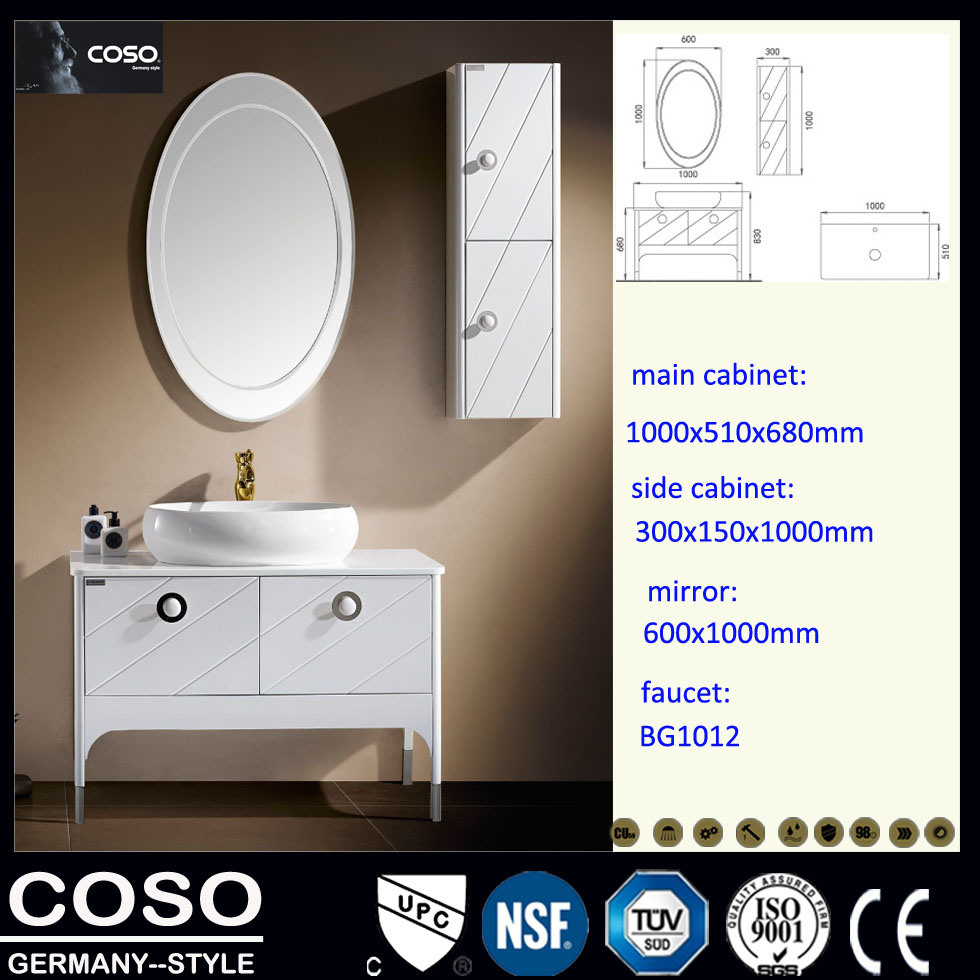 Ecological Wood Bathroom Furniture, Bathroom Cabinet