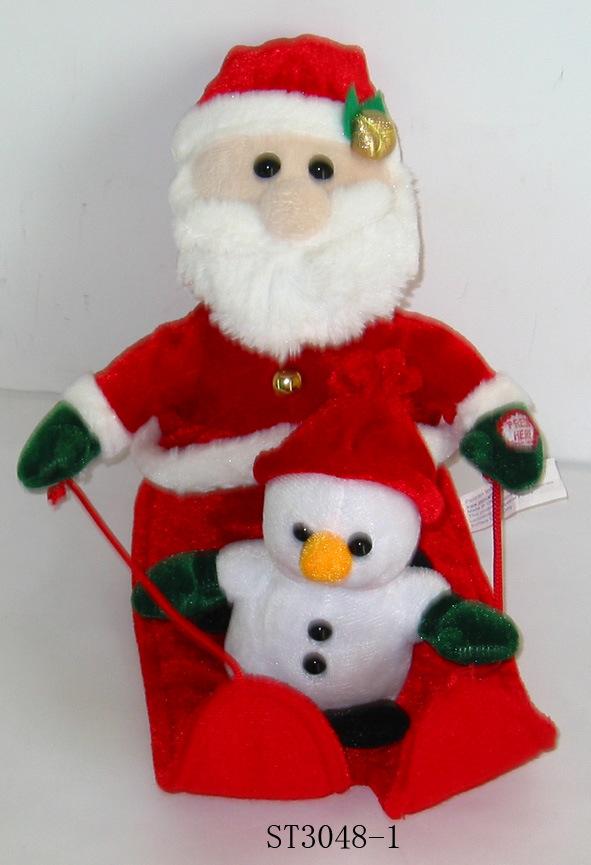 Christmas Toys Product : China christmas toy st plush toys musical
