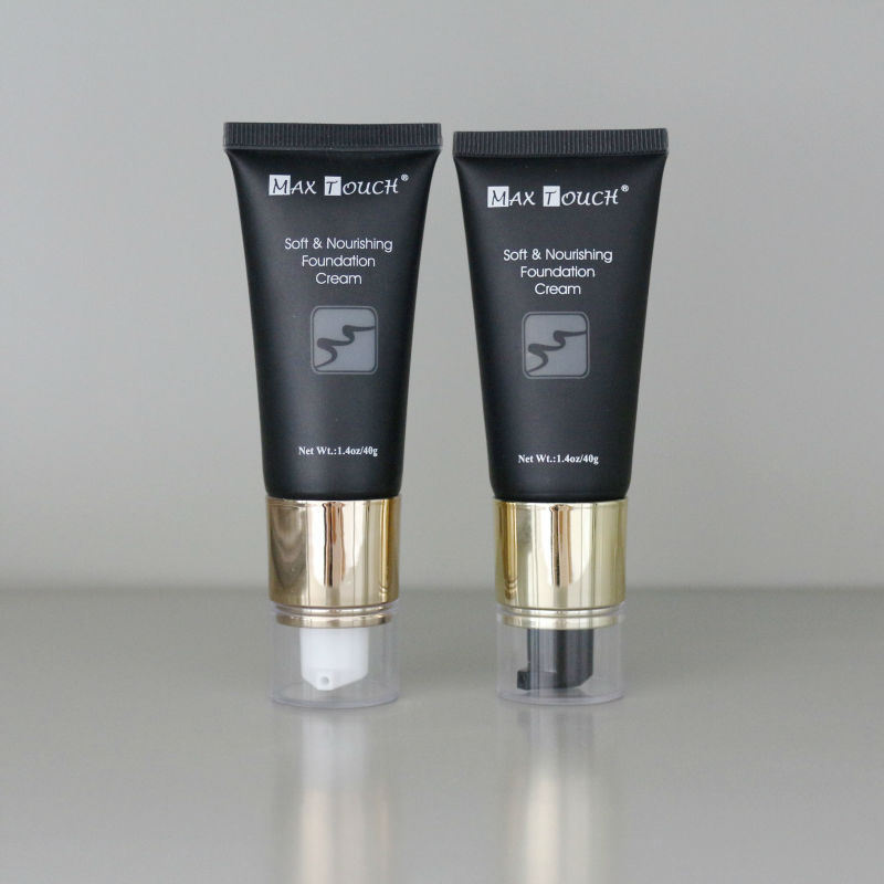Plastic Cosmetic Pump Tube Packaging